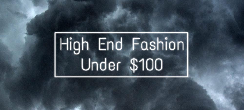 cheap high end fashion