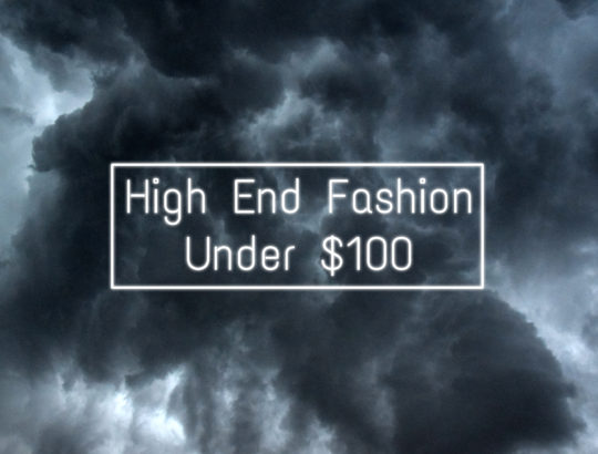 cheap high end fashion