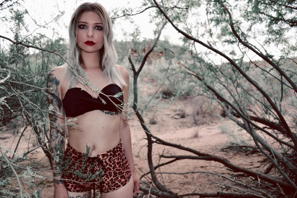 Wild Thing Cheetah High Waist Two-Piece Swimsuit