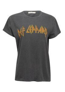 Def Leppard Love Bites Band Tee By Junk Food