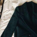 emerald velvet coat