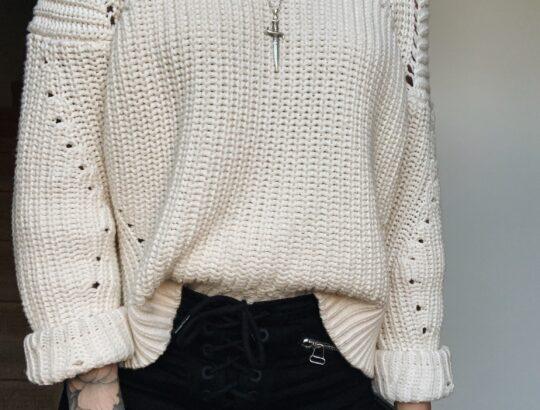 electric bones sweaters